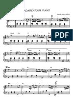 Adagio Pour Piano - Saint-Preux