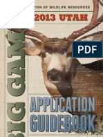 2013 Utah Big Game Guidebook