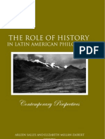 The Role of History in Latin American Philosophy (Salles & Millan-Zaibert)