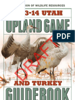 2013-14 Upland Game and Turkey Draft Guidebook