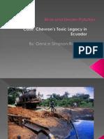 Genice - Chevron's Toxic Legacy in Ecuador