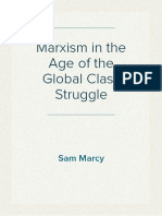 Marxism in the Age of Global Class Struggle