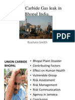 Rushain - Union Carbide Gas Leak in Bhopal India