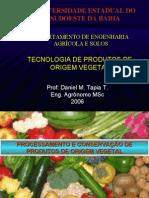 Processamento de Produtos de Origem Vegetal