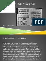 Tamarley - Chernobyl Explosion 1986