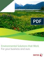 Xerox Sustainability