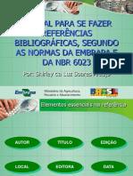 Modelos de Referencia Bibliografica Segundo as Normas