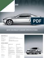 Chevrolet Camaro 2010 Prospekt