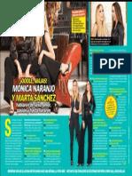 Mónica Naranjo y Marta Sánchez - TvyNovelas - 24.06.13