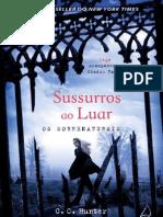 Sussurros Ao Luar - Os Sobrenaturais 4 - C.C. Hunter - Cap. 1 a 12