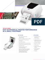 TSC TDP-247 Direct Thermal Label Printer Brochure