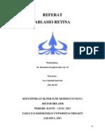 Referat Ablasio Retina