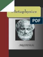 Aristotle - Metaphysics