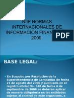 Niif 1, 5 y 7 Sector Financiero