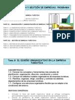 Oraganizacion y Gestion d Empresas Turisticas