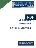 La Calidad Educativa en El E-learning