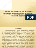 Tropical Residential Building Presentation (Revised)