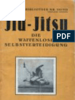 Jiu-Jitsu Die WaffenloseSelbstverteidigung. Jos. Diwischek.1927