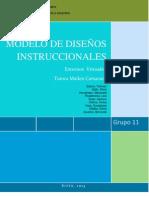 Modelos Instruccionales -Grupo 11