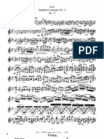 F. Seitz Student Concerto No.3 for Violin and Piano Op.12 Violin Part