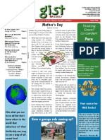 Gist Weekly Issue 23 - Mother's Day