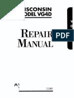 WISCONSIN VG4D Repair