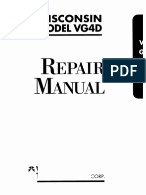 WISCONSIN VG4D Repair | Distributor | Ignition System