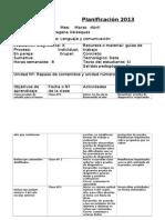 Planificacion Primera Unidad Bases Curriculares