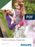 Tarifa Lamparas Especiales 2013