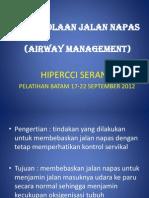 Pengelolaan Jalan Napas 2(Airway Management)Salatiga