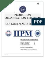 Project Report OB L&T