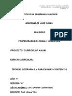 Programa teorías 2012