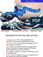 Coastal Features - Transportation & Deposition