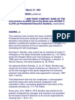 Bondoc vs People's Trust Bank