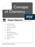 01. Basic Concept of Chemistry [1-24]