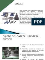 Cabezal Divisor