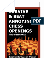 Eric Schiller & John Watson - Survive & Beat Annoying Chess Openings