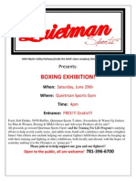 Exhibition Night June