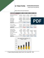 Analisis Laporan Kinerja Perusahaan United Tractor Tbk