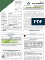 139- Boletim Informativo 07 de Abril de 2013