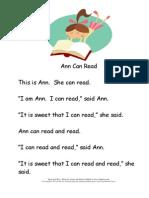 Kindergarten Level 14 Stories