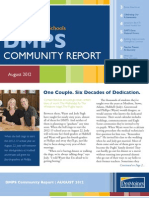 DMPS Community Report - August 2012
