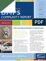 DMPS Community Report - February 2013