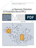 Quantifying Harmonic Distortion in Nonisolated Boost PFCs