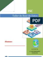 Taller de Base de Datos Unidad 01