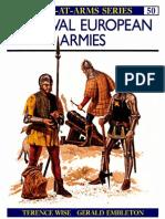 Osprey - Men-At-Arms 50 - European Medieval Armies