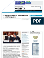 24-06-13 LA SHF SUMARA MAS INTERMEDIARIOS EN CREDITOS PUENTE