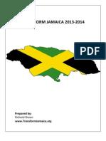 Transform Jamaica 2013 2014 Prayer & Fasting