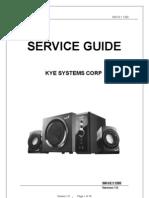 SW-V2.1 1250 Service Manual