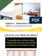 4. Trabajando Con Datos